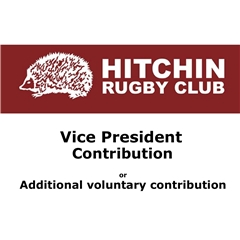 Hitchin Rugby Club - VP donation or additional voluntary donation