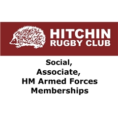 Hitchin Rugby Club - Associate / HM Forces / Social / Touch Rugby subscription 2018-19