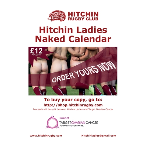 Hitchin Rugby Club - Hitchin Ladies Naked Calendar 2019