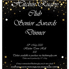 Hitchin Rugby Club - EoS Awards Dinner 2020 at Town Hall