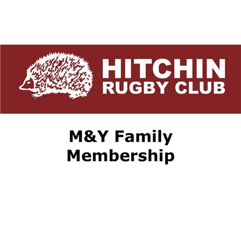 Hitchin Rugby Club - Mini & Youth Subscription 2017-18 (mid-season)