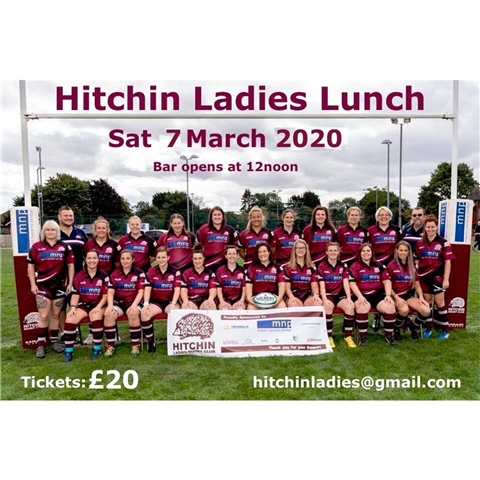 Hitchin Rugby Club - Ladies Lunch 2020