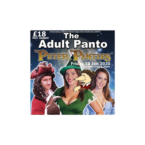 Hitchin Rugby Club - Adult Panto 2020